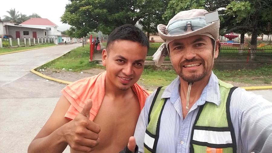 Con Yesster en San Juan de Opoe